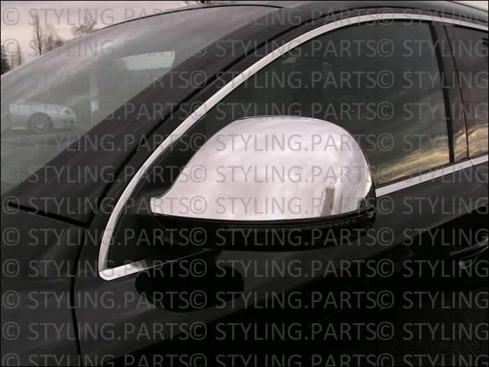 AUDI Q7 2006-/> Facelift Frühjahr 2009 SPIEGELKAPPEN-VERKLEIDUNG IN CHROM NEU