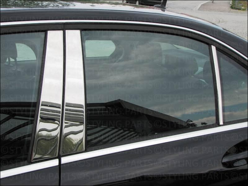 Schätz  Edelstahl Fensterleisten Mercedes E-Klasse W211 Limousine  2007-06//2015