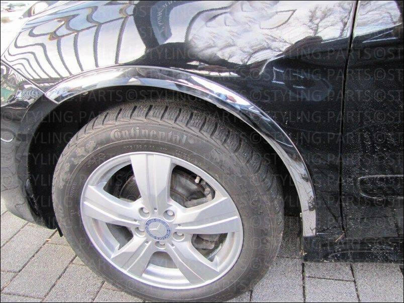 Schätz ® Chrom Scheinwerferrahmen Mercedes B-Klasse W245 Bj 06//2005-10//2011