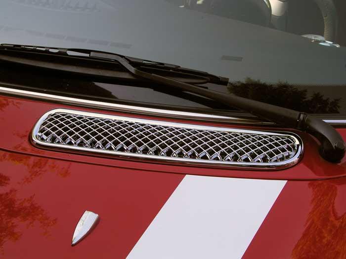 Miroir c/ôt/é Chrome Couvercle d/écoratif cas for BMW MINI Cooper 2001-2006 finition excellente durabilit/é bien 2pcs